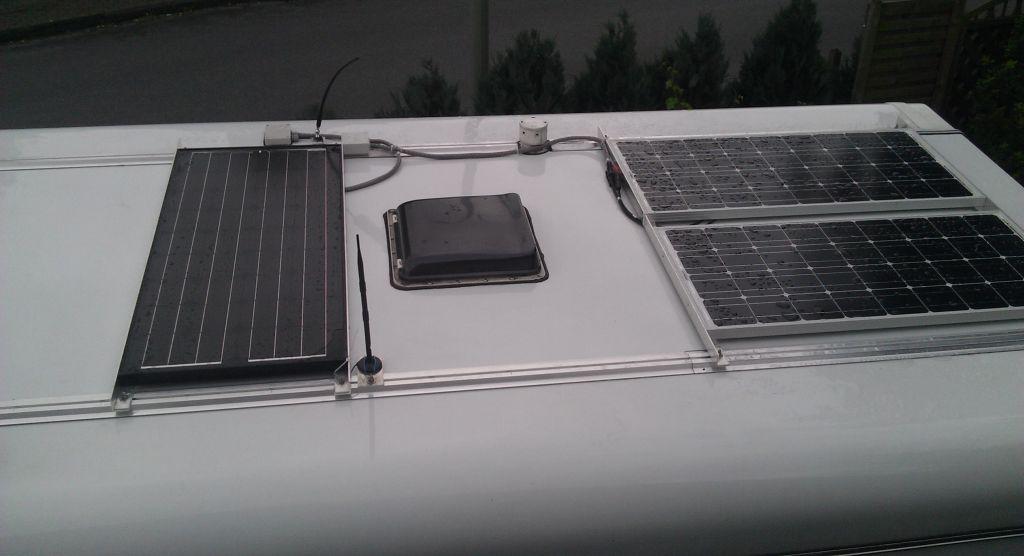 Solarpanel wohnmobil befestigen